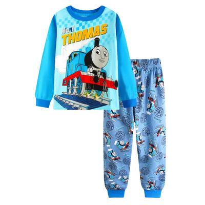 New listing child boy pajamas set 2T-7T Comfortable 100 % cotton