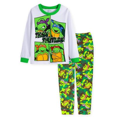 Kids Boys Ninja Cartoon Holiday Birthday Party Nightwear Sleepwear Pajamas