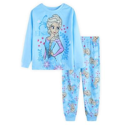 Kids girls Frozen pajamas set 6T cotton sleepwear pyjamas nightclothes