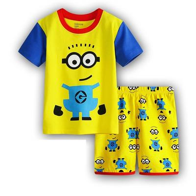 Boys Kids Pyjamas Short Sleeve T-Shirt Shorts Set Age 2-8 Years