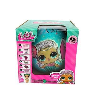 1pc LOL Surprise Doll Outrageous Lil Sisters Egg Ball Toy Series 1
